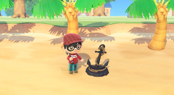 Animal Crossing: New Horizons Anchor Statue