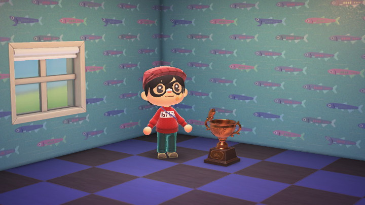 Animal Crossing: New Horizons Bronze Fish Trophy