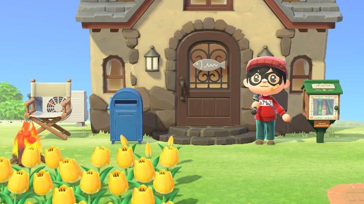 Animal Crossing: New Horizons Fish Doorplate