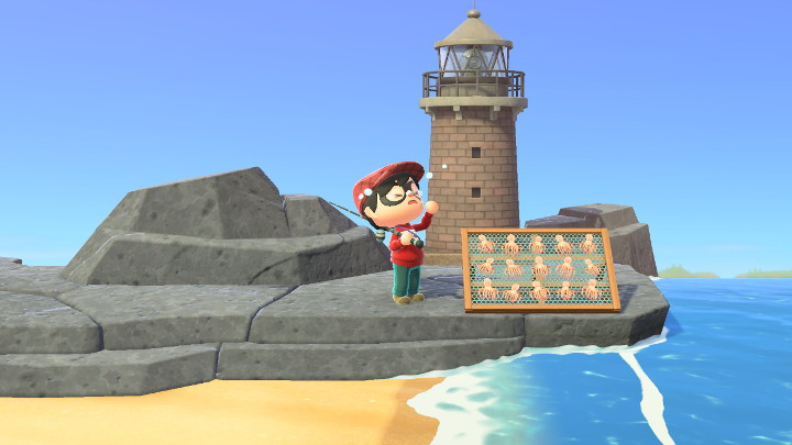 Animal Crossing: New Horizons Fish-Drying Rack