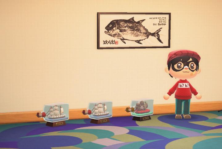 Animal Crossing: New Horizons Fish Print