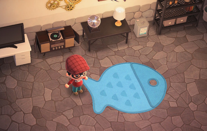 Animal Crossing: New Horizons Fish Rug