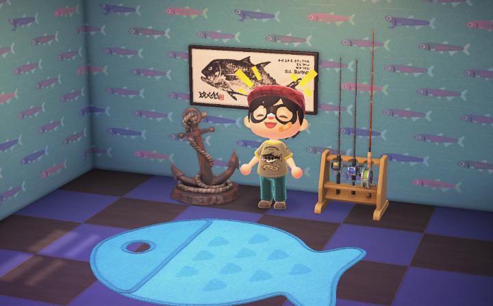Animal Crossing: New Horizons Fish Swag