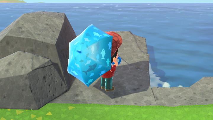 Animal Crossing: New Horizons Fish Umbrella