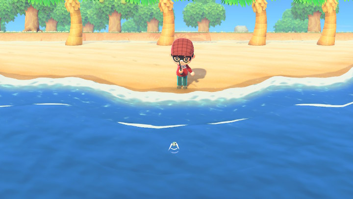 Animal Crossing: New Horizons Fishing Spot