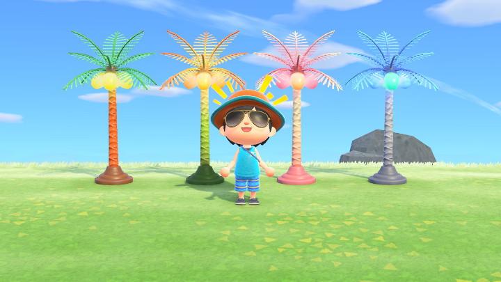 Animal Crossing: New Horizons Palm-Tree Lamp