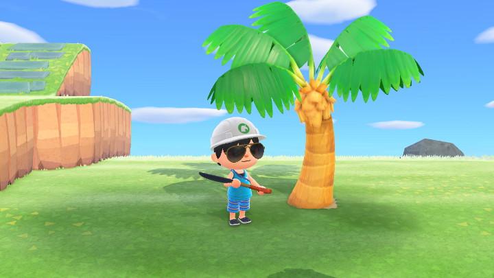 Animal Crossing: New Horizons Palm Tree