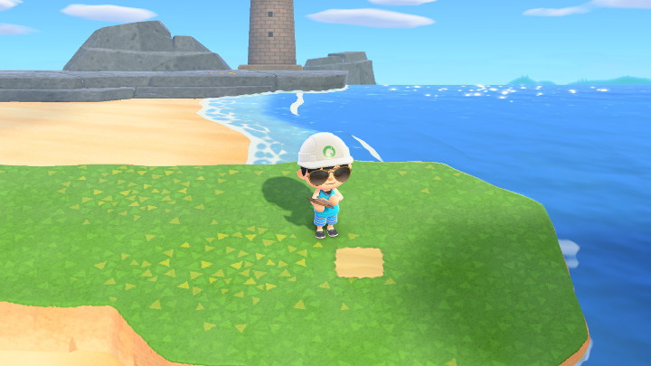 Animal Crossing: New Horizons Sand Path