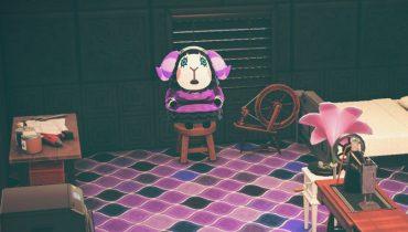 Animal Crossing: New Horizons Muffy Home Interior