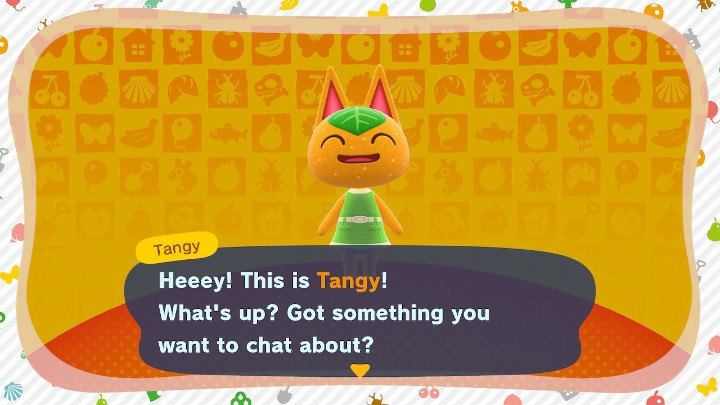 Animal Crossing: New Horizons Tangy amiibo