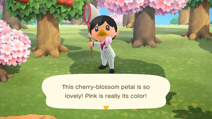 Animal Crossing: New Horizons Cherry Blossom