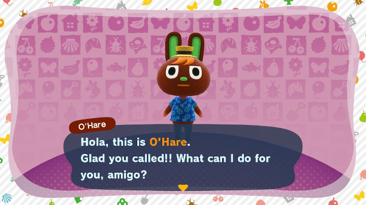 Animal Crossing: New Horizons O'Hare amiibo