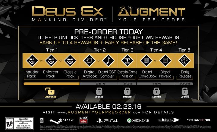 Deus Ex Pre-order