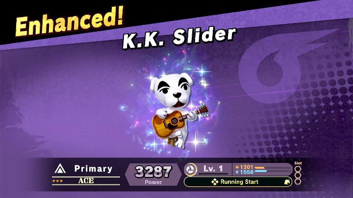 Super Smash Bros Ultimate - KK Slider