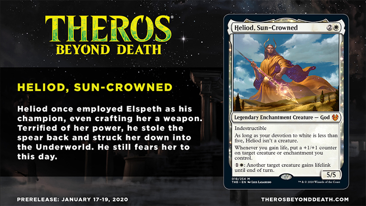 Theros Beyond Death Heliod