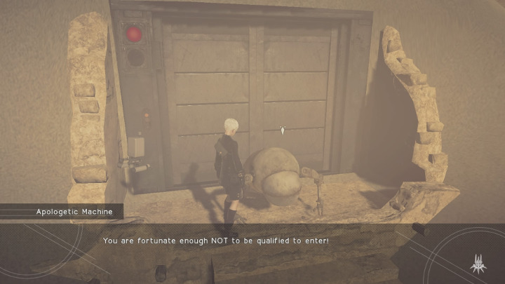 nier: automata apologetic machine