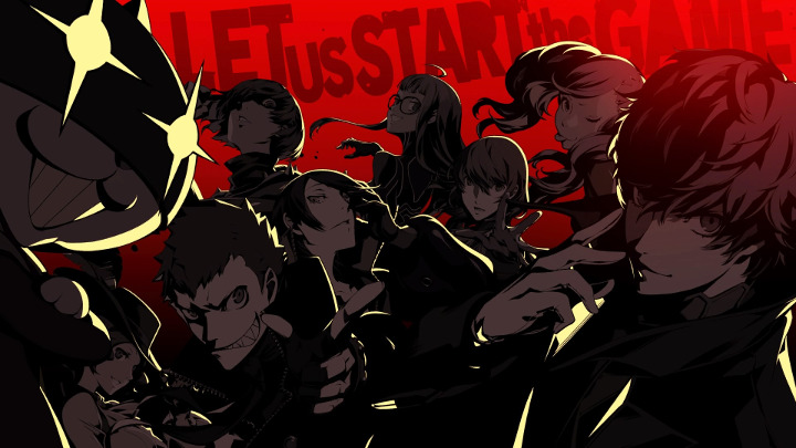 Persona 5 let us start the game
