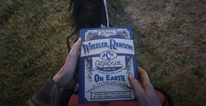 Red Dead Redemption 2 Wheeler Rawson Catalogue
