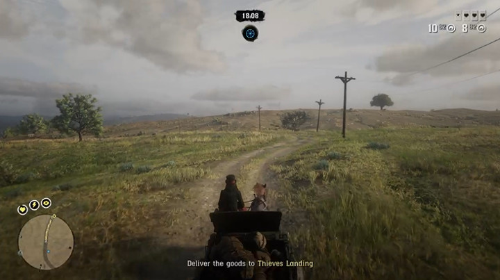 Red Dead Redemption 2 Thieves Landing Delivery