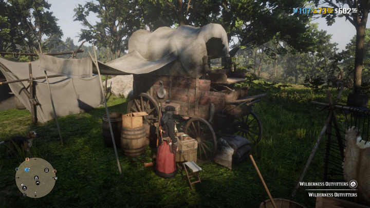 Red Dead Redemption 2 Wilderness Outfitters