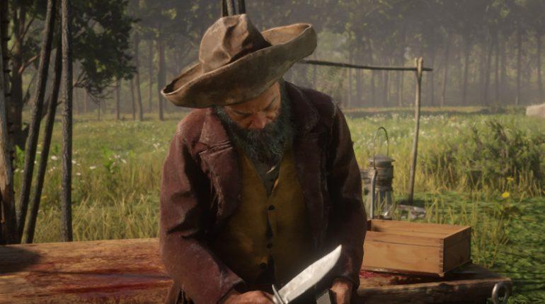 Red Dead Redemption 2 Cripps