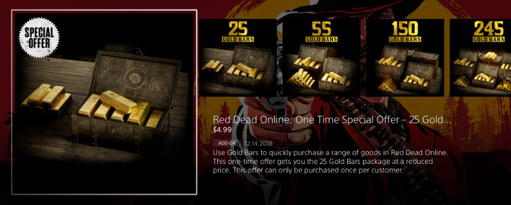 Red Dead Online Gold