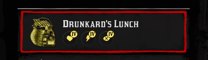 Red Dead Redemption 2 Drunkard's Lunch