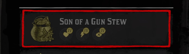 Red Dead Redemption 2 Son of a Gun Stew