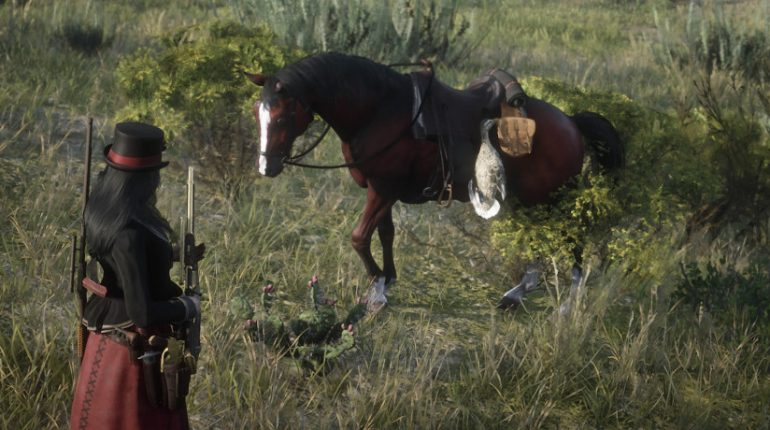 Red Dead Redemption 2 Arabian Stallion
