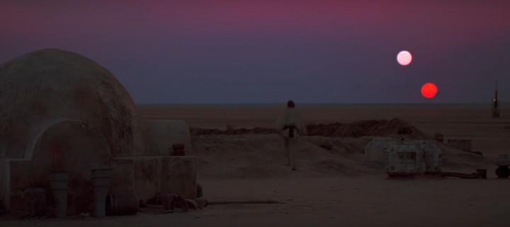 A New Hope - Binary Sunset