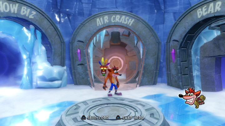 Crash Bandicoot 2 Air Crash