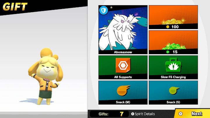 Super Smash Bros Ultimate - Amiibo Gift