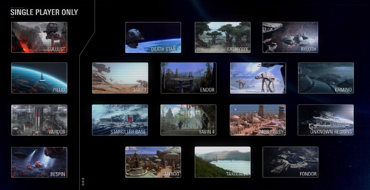 This Is Battlefront 2 All Locations