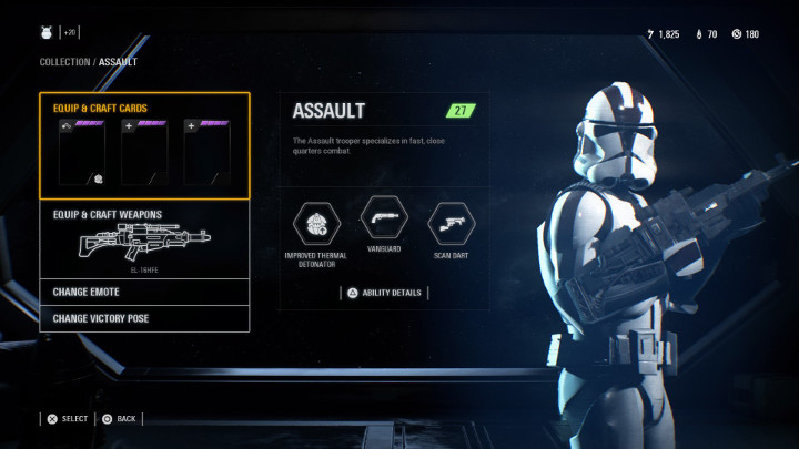 Star Wars Battlefront 2 Assault Class