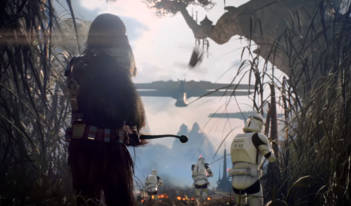 Star Wars Battlefront 2 Wookie