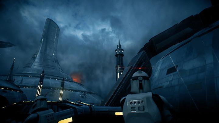 Battlefront 2 Kamino Cloning Facility