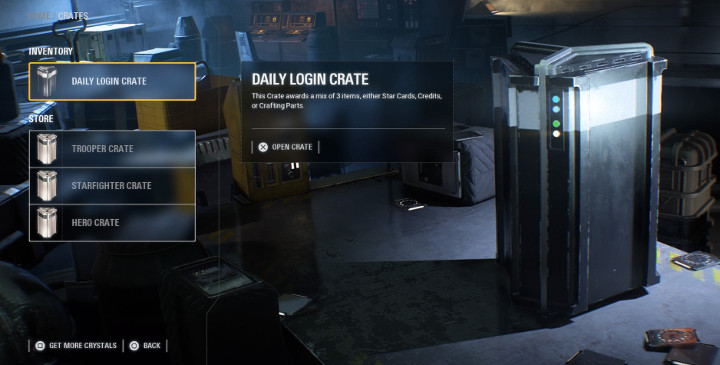 Battlefront 2 Loot Crate