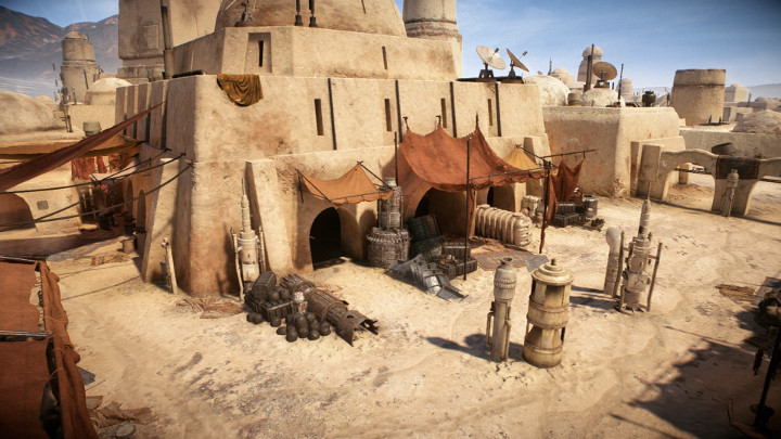 Star Wars Battlefront 2 Mos Eisley
