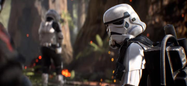 Star Wars Battlefront 2 Stormtrooper on Endor