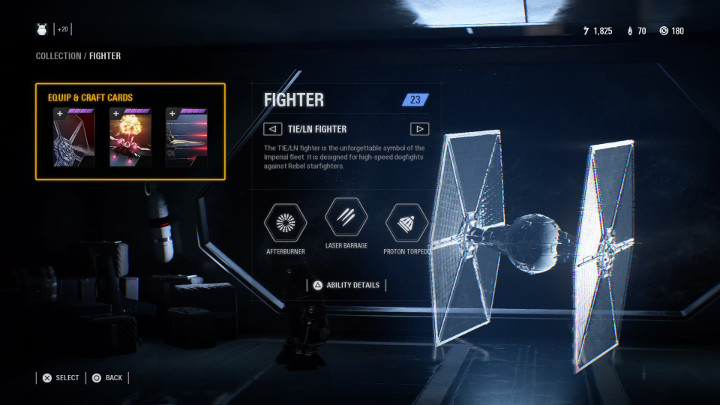 Star Wars Battlefront 2 Fighter Class