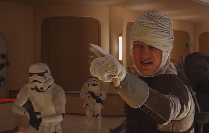 Star Wars Battlefront Bespin Dengar