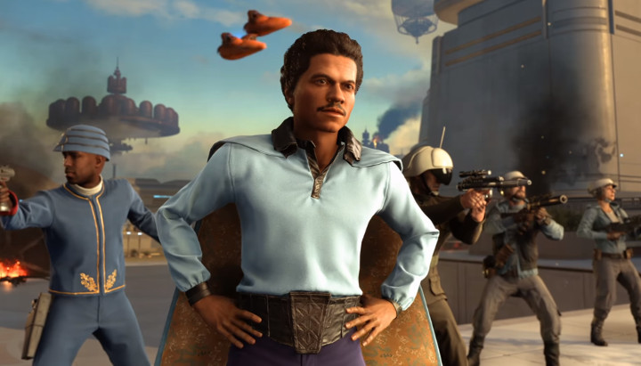 Star Wars Battlefront Bespin Lando