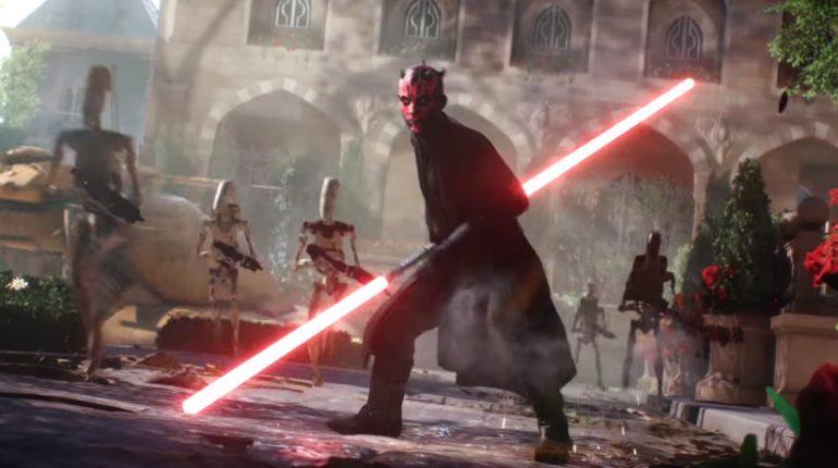 Star Wars Battlefront 2 Darth Maul