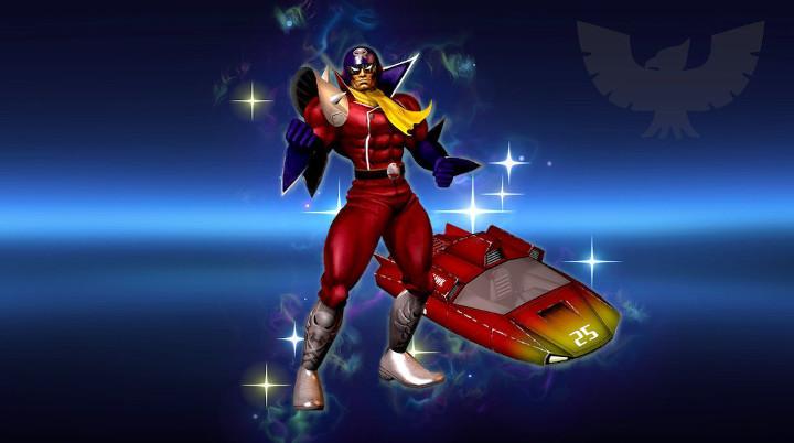 Super Smash Bros Ultimate - Blood Falcon