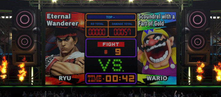 Super Smash Bros Ultimate - Boxing Ring