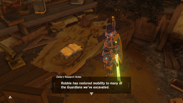 Breath of the Wild - Zelda's Research Notes