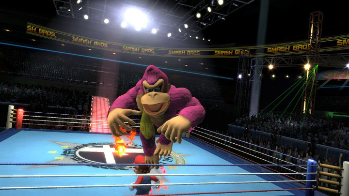 Super Smash Bros Ultimate - Boxing Ring
