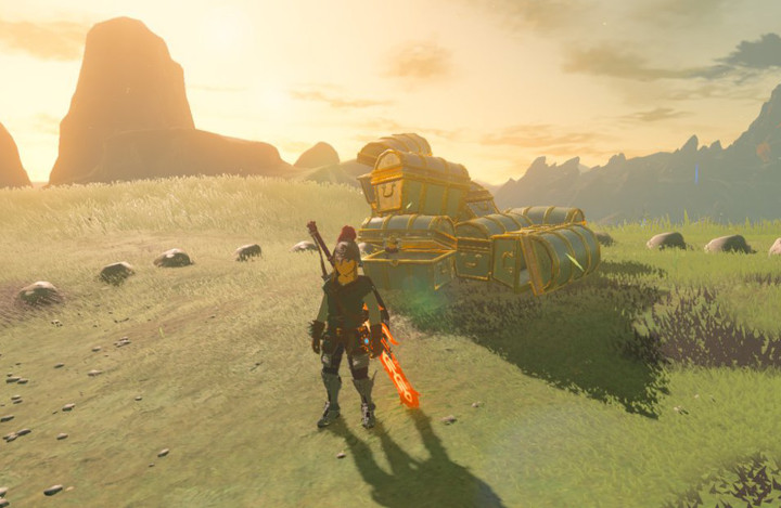 Breath of the Wild - Stack of Treasure Chests