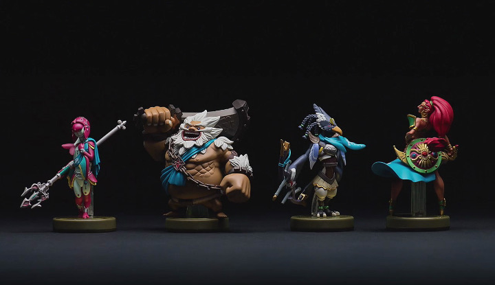 Champion Amiibo Breath of the Wild
