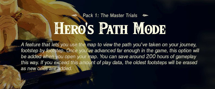 Breath of the Wild - Hero's Path Mode